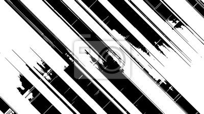 Fototapete Schwarz-Weiß-Vektor-Design Zehn