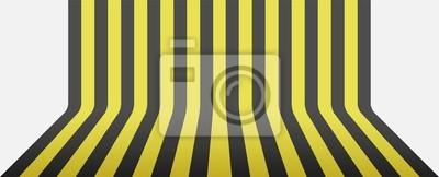schwarzen und gelben Streifen Hintergrund