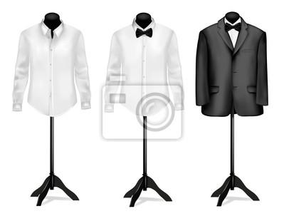 schwarzer anzug welches hemd