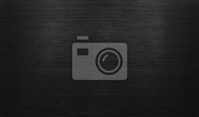 Fototapete Schwarzer polierter Aluminiumhintergrund