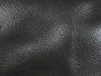 Schwarzes Leder Textur