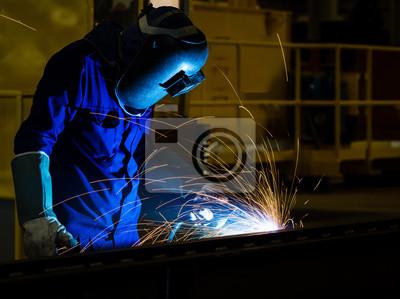 Schweißen Stahlkonstruktion