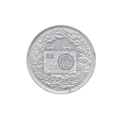 Schweizer Franken Währung Ein Franken 1969 Münzen Der Welt