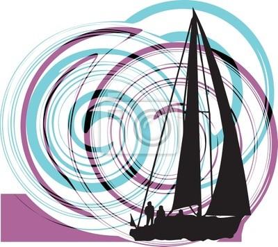 Segeln Luxus-Yacht