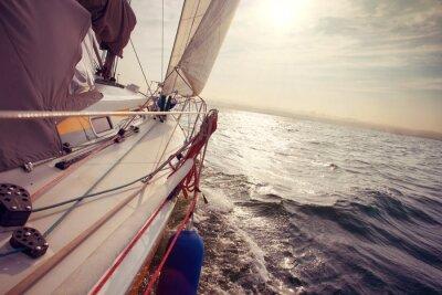 Fototapete Segeln unter Wind ein