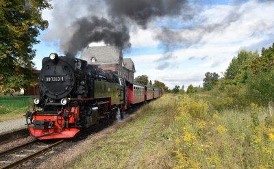Fototapete Selketalbahn