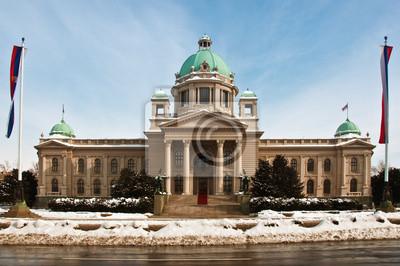 Fototapete Serbische Nationalversammlung