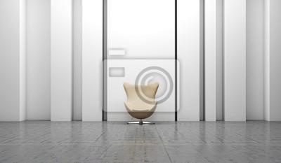 Sessel Innenraum Ohrensessel Wohnen Modern Fototapete