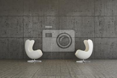 Sessel Innenraum Wohnen Modern Design Innenraum Fototapete