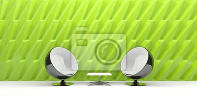 Fototapete Sessel, Möbel, Wohnen, Design, Modern