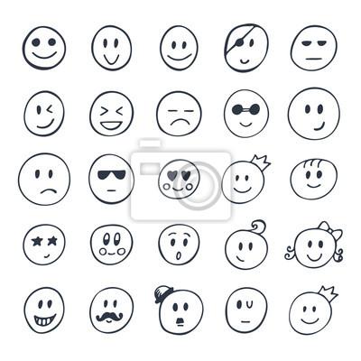 smiley zum ausdrucken - vorlagen zum ausmalen gratis