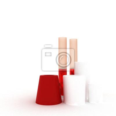 Moderne Vasen set moderne vasen fototapete fototapeten vase ton drei myloview de