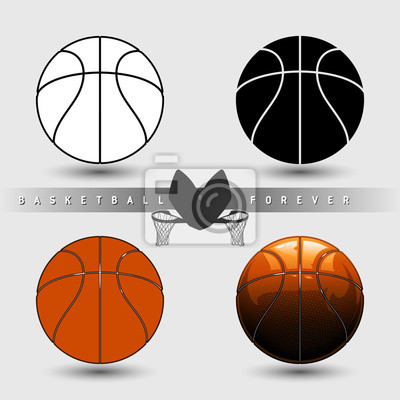 Set of basketball
