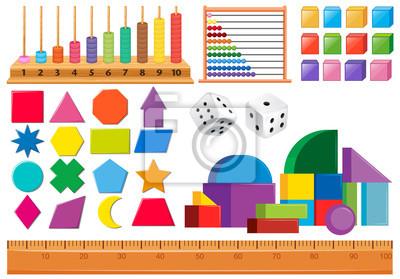 Set of math object