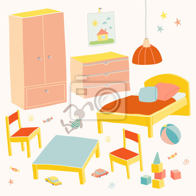 set von m beln f r kinder zimmer kinder kleine m bel f r kleines fototapete fototapeten. Black Bedroom Furniture Sets. Home Design Ideas