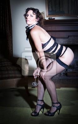 Fototapete Sexy Frau In Dessous
