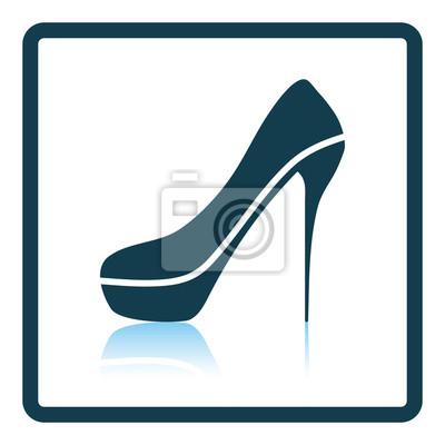 Sexy high heel schuh-symbol fototapete • fototapeten Sadomasochismus ...