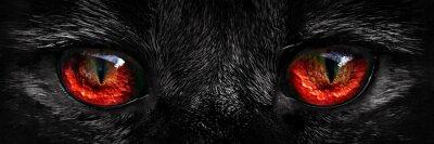Fototapete Shaggy monster rote Augen Großansicht