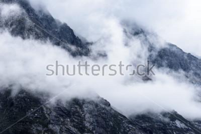 Fototapete Sichuan Bi Peng Graben natürliche Landschaft
