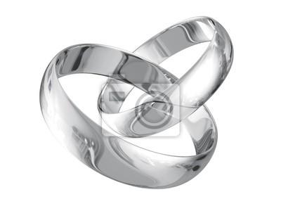 Silber Hochzeit Ringe Fototapete Fototapeten 14 Ewigkeit