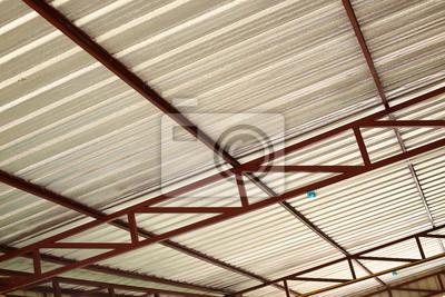 Silberfolie Isolierung Hitze Auf Decke Dach Haus Fototapete
