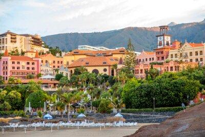 Fototapete Sityscape Blick auf Los Cristianos Resort