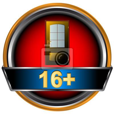 Sixteen Plus-Symbol