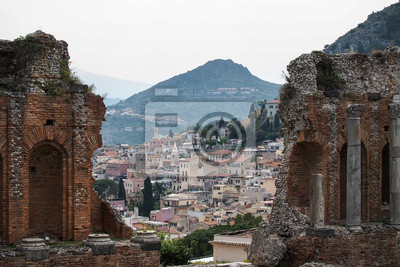 Sizilien - Taormina - Griechisches Theater (Teatro Greco)