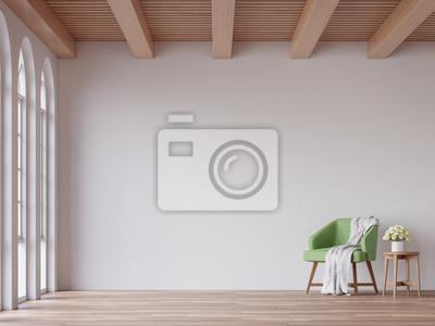 Skandinavisches wohnzimmer 3d, das bild überträgt. die räume ...