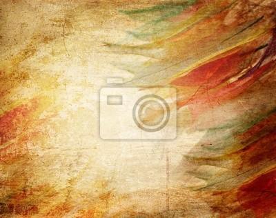 Skeleton Blätter grunge background