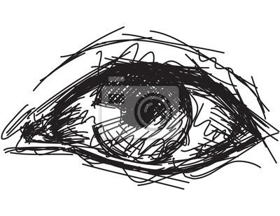 Sketchy eye