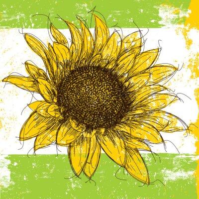 Sketchy Sunflower