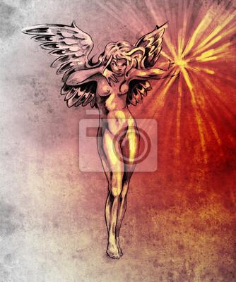 Nackte engel