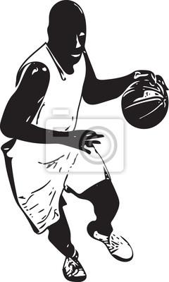 Skizze des Basketballspielers