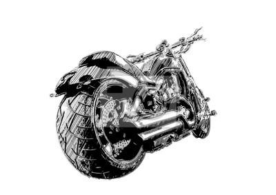 Skizzieren des Motorrads