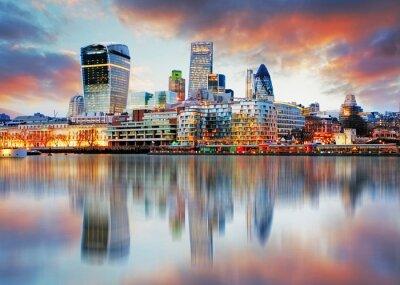 Fototapete Skyline von London