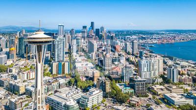 Skyline von Seattle