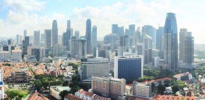 Fototapete Skyline von Singapur