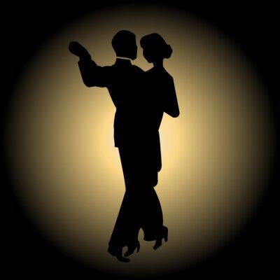 Fototapete Slow Dance