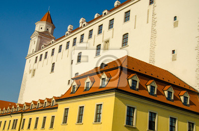 Fototapete Slowakischen Burg in Bratislava