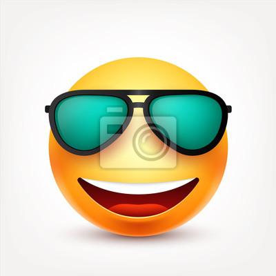 Smileys mit brille