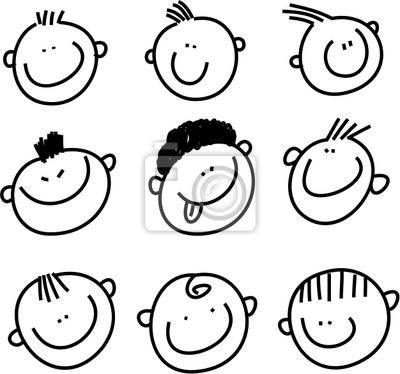 smilie Gesichter