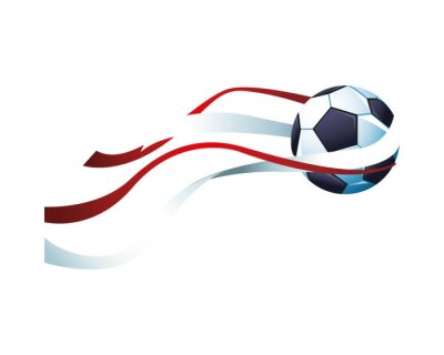 soccer balloon with tapes sport championship icon