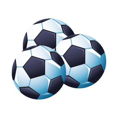 soccer balloons sport championship icons