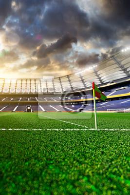 Soccer Stadium in light day
