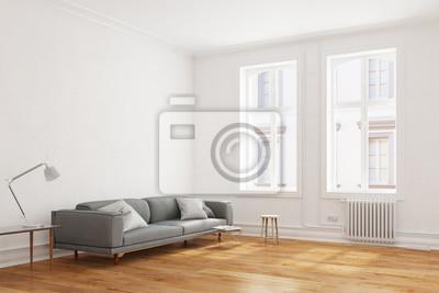 Sofa In Wohnzimmer In Wohnung Im Altbau Fototapete Fototapeten