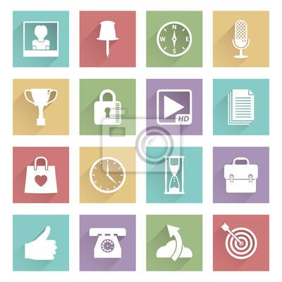 Soft Media Icons Set 4