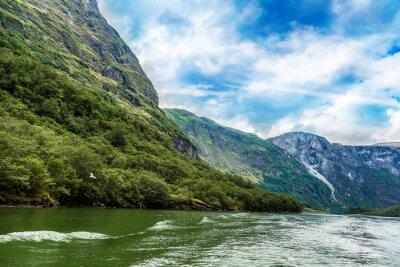 Fototapete Sognefjord in Norwegen