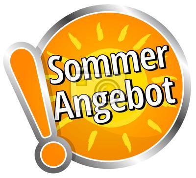 Sommer angebot fototapete • fototapeten Werbung, reduziert ...