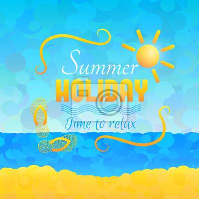 Sommer-Hintergrund